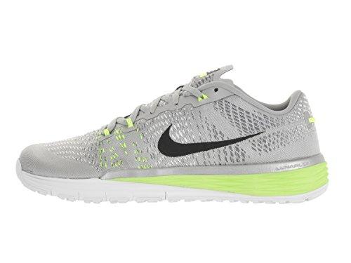 Nike Mens Lunar Caldra Scarpa Da Corsa Metallic Silver / Blk / White / Vlt