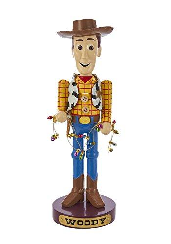 Kurt Adler 11 Inch Resin Disney Woody Nutcracker ()