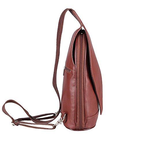 Beautiful femme porté ca cm BxHxT dos 22x36x10 Marron Chocolat main Couture OBC Sac à Only pour chocolat au 5SvFYS