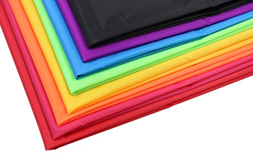 Ripstop Nylon Fabric for Kite Making Pack of 8 -