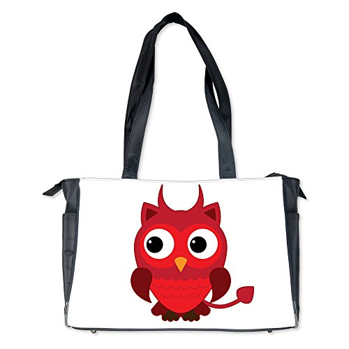 Diaper Bag Little Spooky Owl Devil -