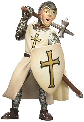 - Schleich Crusaders Foot Soldier with Warhammer