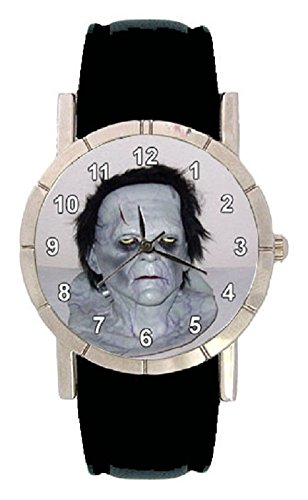 Halloween Photo Design Watch with Leatherband