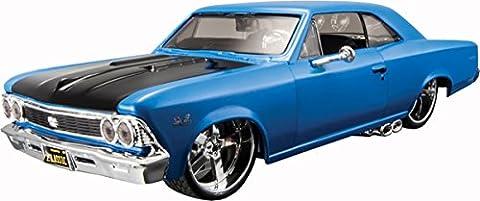 66 Chevrolet Chevelle 396 1:24 Scale Maisto Design Customised Model Car Toy (Chevelle 66)