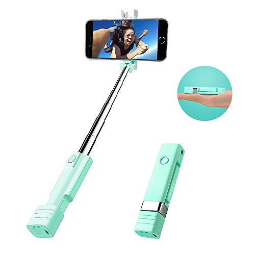 Bluetooth Selfie Stick, atongm Mini Cell Phone Selfie Sticks for iPhone X/8/8Plus/7/7Plus/6/6Plus/6s/6s...