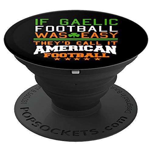 Gaelic Football Player Coach Funny Jersey Sports Gift - PopSockets Grip and Stand for Phones and Tablets