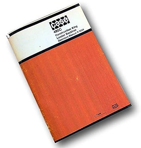 Amazon com: J I Case 480C Construction King Loader Backhoe