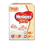 Huggies Ultra Soft Pants, Small Size Premium Diapers, 50 Counts