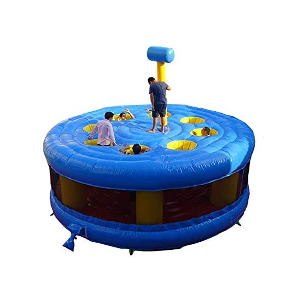 Toogou-5m-Dia-Giant-Inflatable-Human-Whack-A-Mole-for-Children-N-Adults-Interactive-Fun-5m-Round-1-Blower