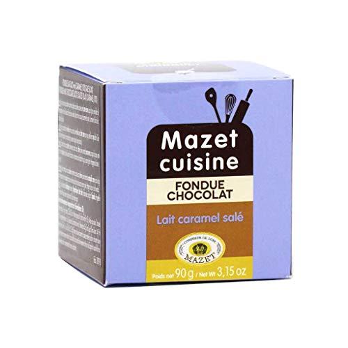 Mazet - Milk Chocolate with Salted Caramel Fondue, 3.15oz
