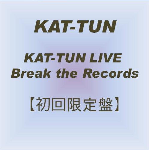 KAT-TUN LIVE Break the Records 【初回限定盤】 [DVD]