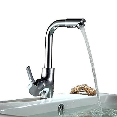 Toll Auralum® Elegant Küchenarmatur Mischbatterie 360° Schwenkbarer Wasserhahn  Armatur Für Küche Spüle Waschbecken