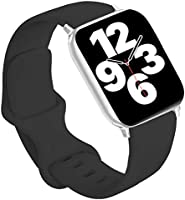 Idon Compatible for Apple Watch Bands 40MM 44MM 38MM 42MM, Soft Silicone Replacement Sport Watchbands Compatible for...