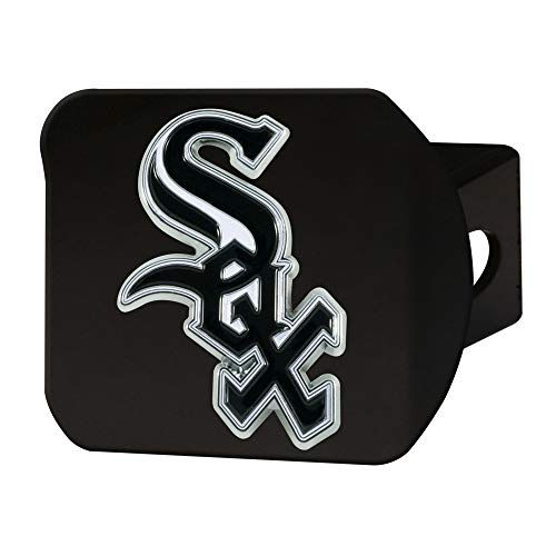 FANMATS MLB - Chicago White Sox Color Hitch - Black
