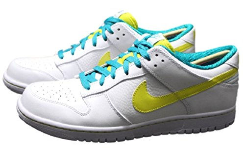 UK Zoom weiß Force EUR Premium Nike Schuhe Leder 45 10 Low Sneaker Dunk 318764 Gr qSapBY