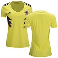 Women's Colombia 2018 World Cup Home Blank Soccer Jersey