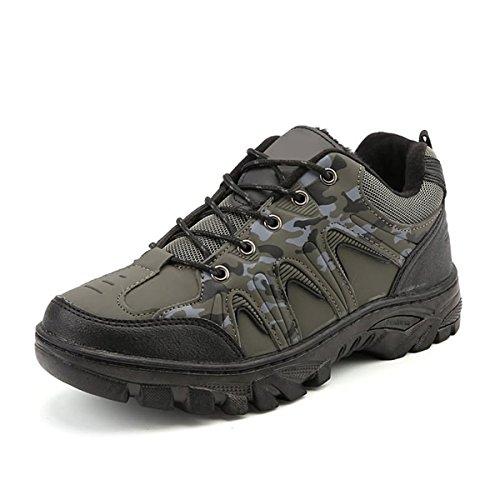 Hiker Waterproof Men's Shoe Green Leather BERTERI Women's Boot Hiking Backpacking and Winter Outdoor FHfwxO