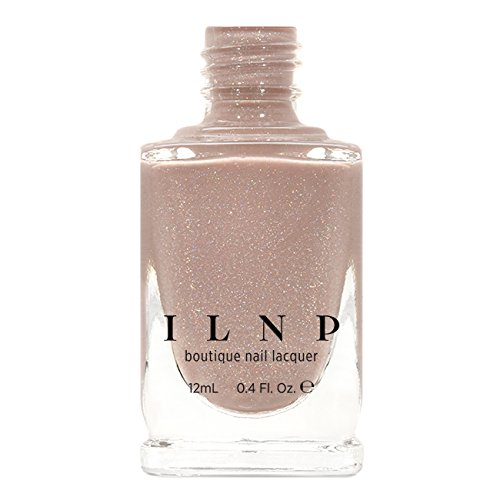 ILNP Chleo - Neutral Blush Pink Holographic Sheer Jelly Nail Polish (Cleo Rose)