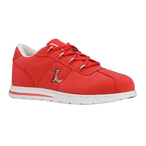 Baskets Mode Hommes Lugz De Mars Rouge