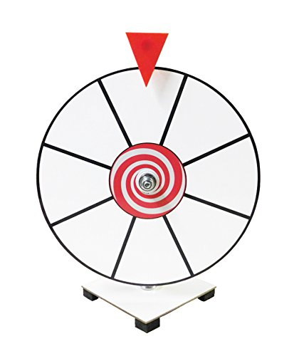 Review Of Prize Wheel 12 White Face Dry Erase Kid Safe Pegless Design