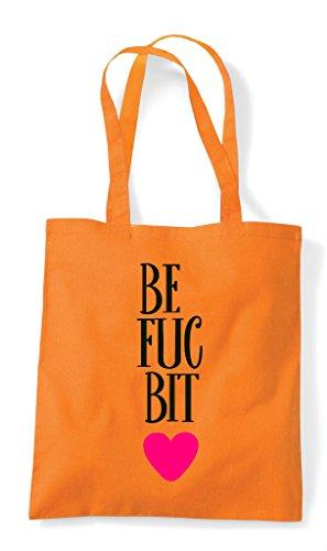 Part One Tote Friends Matching Fucking Statement Bag Bff Orange Best Bitches Shopper 8qZtwE