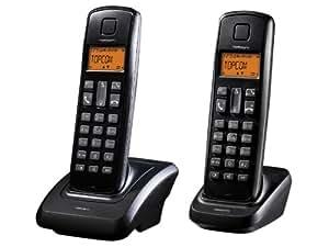Topcom BUTLER-E700 DUO - Teléfono inalámbrico
