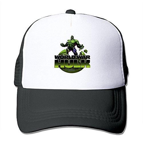 Cool The Incredible Hulk Trucker Cap Baseball Hat (5 Colors) Black