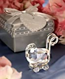 Crystal Baby Carriage Wedding Favors, 12, Health Care Stuffs
