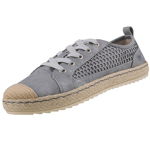 stringate Scarpe Mustang donna Mustang stringate stringate Grigio Scarpe Mustang donna Scarpe donna Grigio qfpHRHw