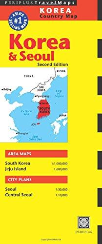 Korea & Seoul Travel Map  (Periplus Travel Maps)