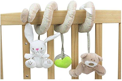 Lytshop Kids Cute Toy Cute Doll Pram Toy Hanging Toys Sleeping Comfort for Unisex Baby