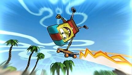 Spongebob Surf & Skate Original Cover And Instruction Booklet Video Games & Consoles