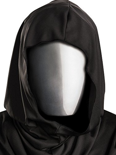 Disguise Costumes No Face Chrome Mask, Adult -