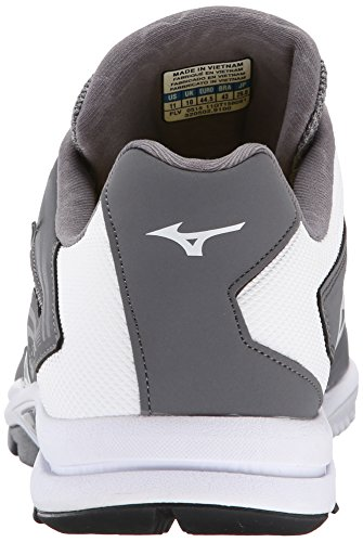 Mizuno - Players Trainer da uomo Grey / White