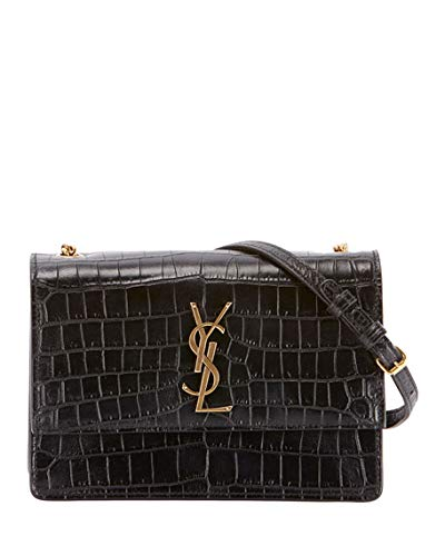 Ysl Crocodile Bag Saint Laurent Kate Monogram Ysl Tassel