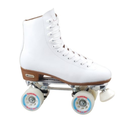 Chicago Women's Leather Lined Rink Skate (Size6), White
