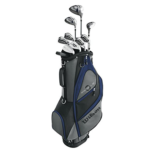 Wilson Unisex Profile XD Golf Complete Set Senior Right Hand, Senior Flex, MRH/SENIOR