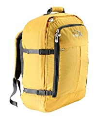 """Cabin Max Metz Backpack Flight Approved Carry on Bag Travel Hand Luggage- 22x16x8"""" (Yellow)"""