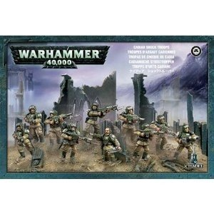 Warhammer 40K: Imperial Guard Cadian Shock Troops Boxed