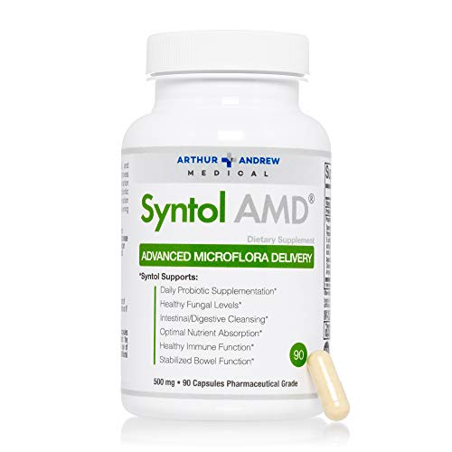 Arthur Andrew Medical - Syntol - Advanced Microflora Delivery - Gentle Yeast Cleanse With Probiotics and Enzymes - 90 caps