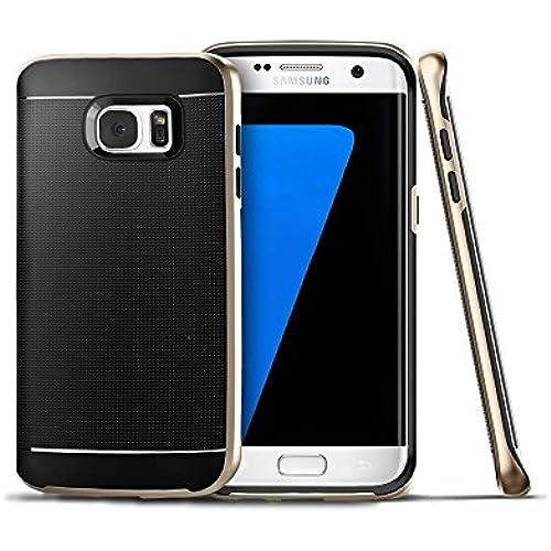 Galaxy S7 Edge Case,ILUXUS PREMIUM BUMPERBumper Style Premium Case Slim Fit Dual Layer Protective Cover for Samsung Sales