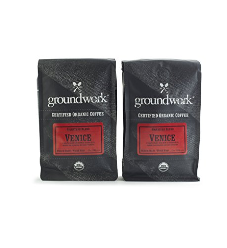 Work Ground Coffee - Groundwork Venice Organic Coffee (12oz) 2-Pack