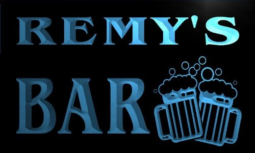 Remy Beer (w009179-b REMY'S Name Home Bar Pub Beer Mugs Cheers Neon Light Sign)
