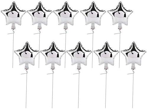 アルミ箔風船、10個10