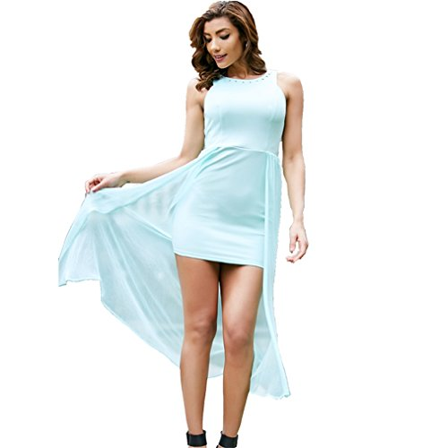 Green Harness Sleeveless Solid Sexy Beauty Dress Light Dress Women New Summer Garden qaw8S6P