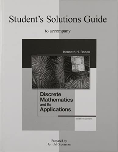 Students solutions guide to accompany discrete mathematics and students solutions guide to accompany discrete mathematics and its applications 7th edition 7th edition fandeluxe Gallery