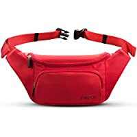 FREETOO Fanny Pack Waist Pack for Women,with Large Capacity,Waterproof, Sweat-Resistant and Wear-Resistant Nylon Bum Bag,fits Phones Up to 6.5'',Suitable for Shopping,Walking,Travel,Daily Leisure