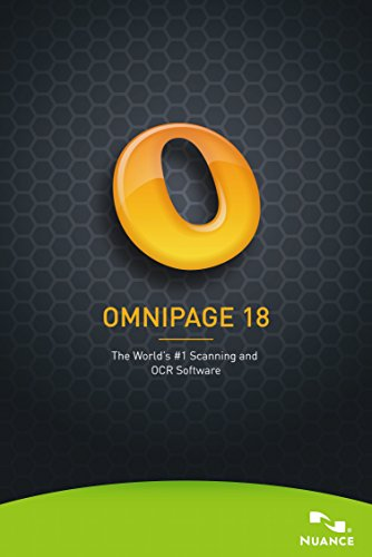 Omnipage 18 Standard [PC Download] by Nuance Dragon