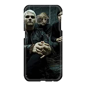Samsung Galaxy S6 LlC19070FLaZ Customized Lifelike My Chemical Romance Band Pictures Excellent Cell-phone Hard Covers -JonBradica
