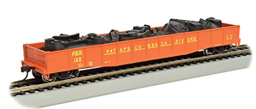 "Bachmann Trains 50- 6"" Drop End Gondola Car with Scrap for sale  Delivered anywhere in USA"